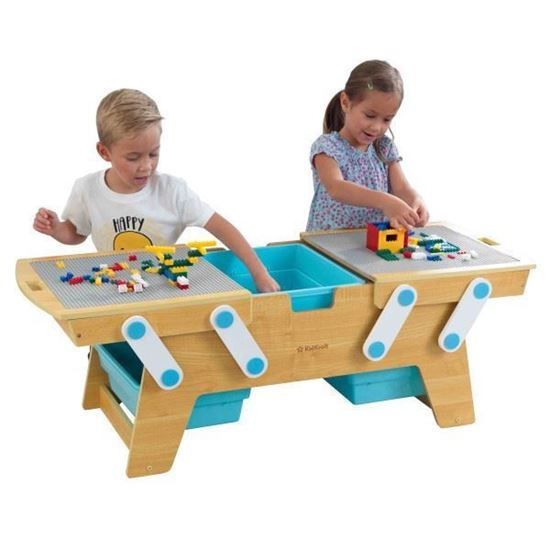 Tavolo Building Bricks Play N Store - KidKraft